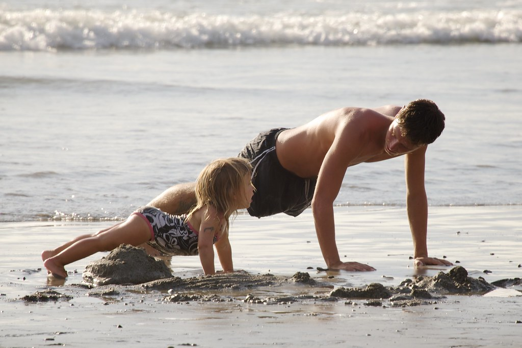 Father-Daughter Exercise