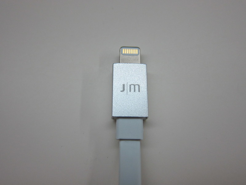 Just Mobile AluCable Flat Mini - Lightning End