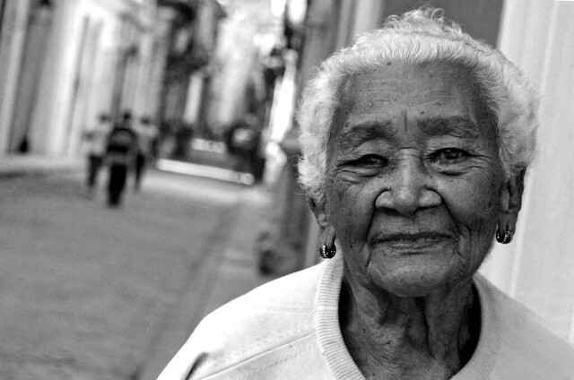 Anciana cubana