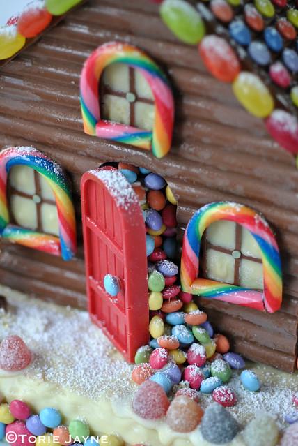 Homemade chocolate house 3