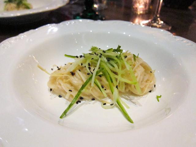 "Handmade ""Long Life"" Noodles"