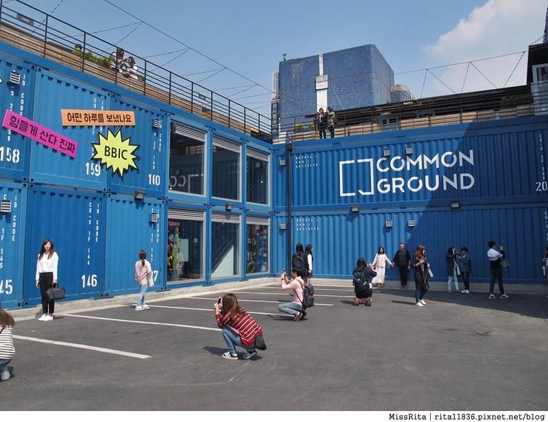 首爾景點 藍色貨櫃屋 common ground 首爾建大 建大捷運站 首爾潮流 2016韓國景點 韓國團體 韓國自由行 世界最大貨櫃屋商城 建大貨櫃屋商場 MARKET GROUND 15