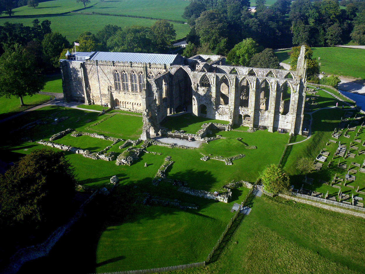 Bolton Abbey, Wharfedale. Credit Dr John Wells