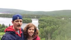 Panning above Freshwater Lake