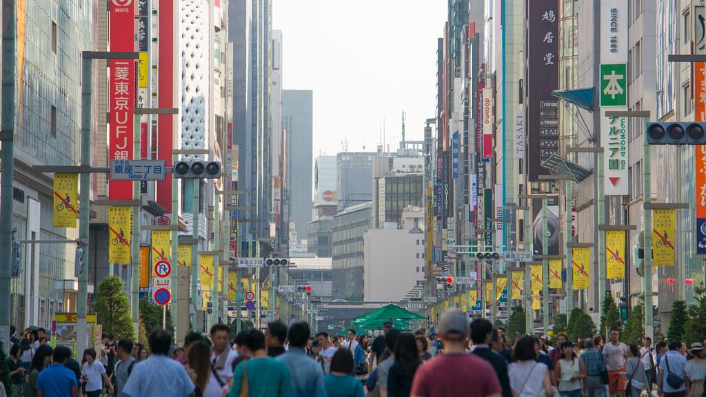 Saturday in Ginza