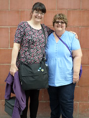 Katie & me in Nottingham