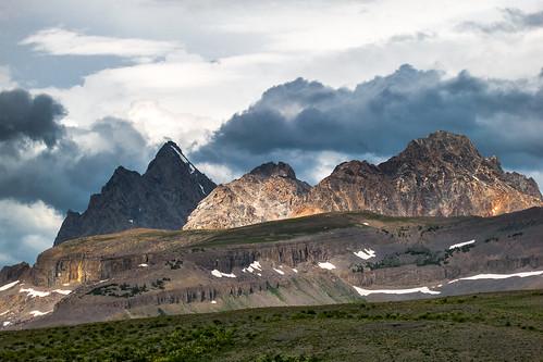 summer storm nature weather clouds canon landscape outdoors hiking powershot alpine rockymountains wyoming peaks treeline grandteton tetonrange s100 jedediahsmithwilderness