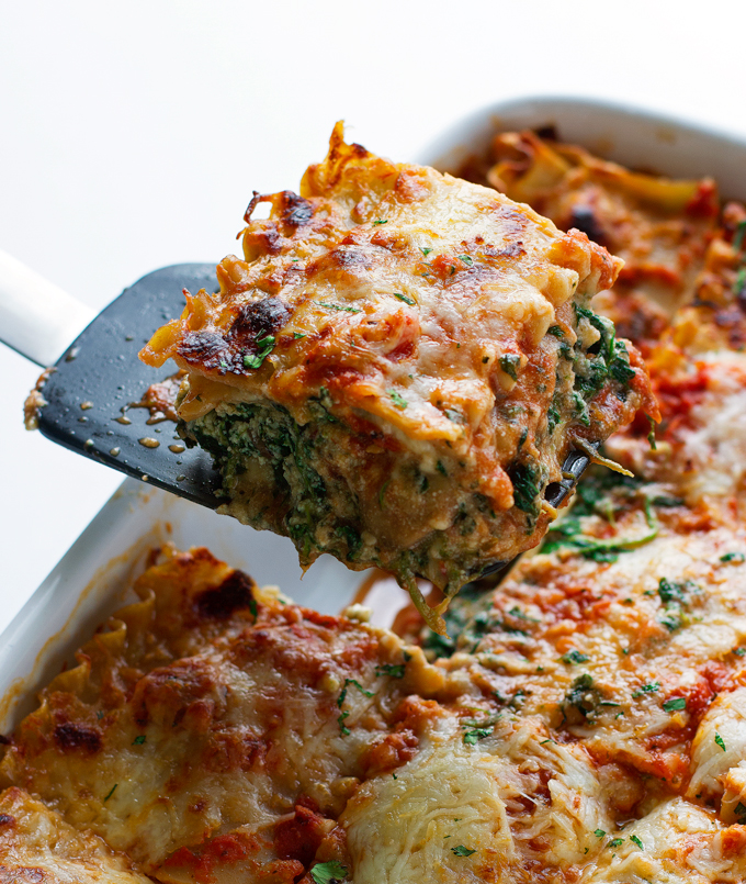Wild Mushroom And Spinach Lasagna Recipes — Dishmaps