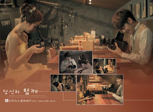 高雄KISS九九麗緻婚紗韓風婚紗攝影分享-合成照4