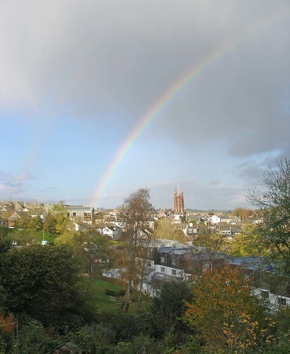 Rainbow over Totnes