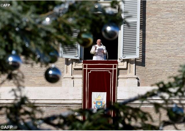 """Đức Thánh Cha Phanxicô: Hãy """"Xin Vâng"""" Như Đức Maria Thưa Với Sứ Thần Thiên Chúa"""