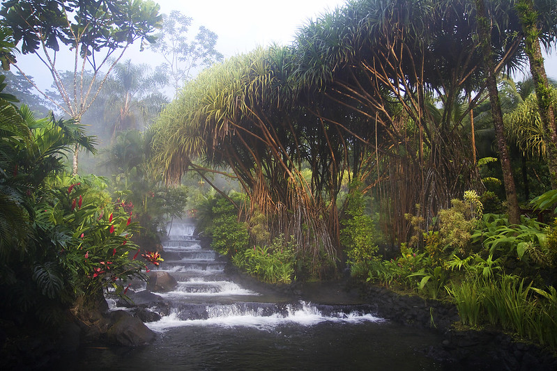 Flowing Waterfalls - Costa Rica Hot Springs