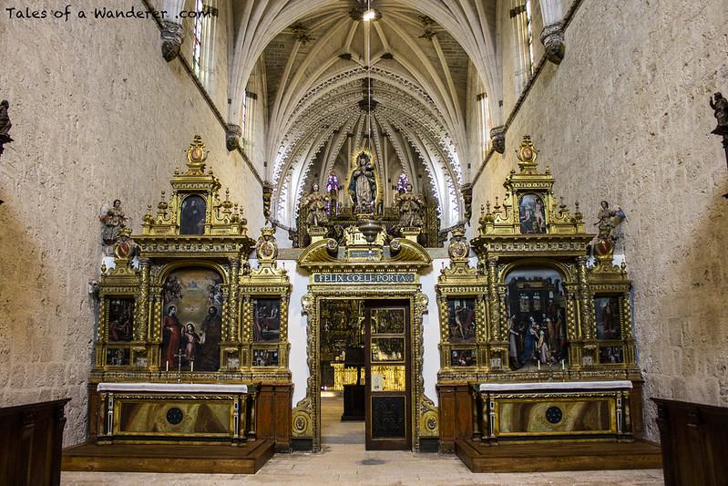 BURGOS - Cartuja de Miraflores - Estancia de los fieles