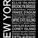 Urban Art District posted a photo:	Subway sign typography listing popular attractions of New York City.Website: www.urbanartdistrict.com/subway-new-york-1/Facebook: www.facebook.com/UrbanArtDistrictPinterest: www.pinterest.com/UrbanArtDist/