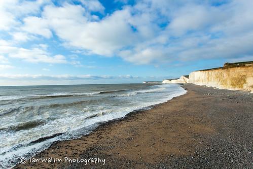 sea beach water canon landscape sussex stones eastbourne nationaltrust beachyhead canon5dmkiii