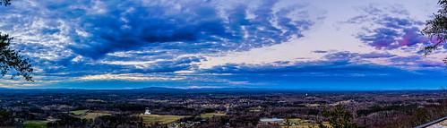 3xp hdr indianseats sawnee sawneemountain clouds panaroma peaceful sunset valley view mountain