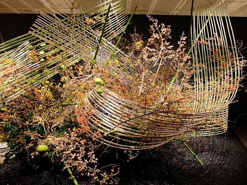Iemoto Akane Teshigahara The 96th Sogetsu Annual Exhibition 2014 Autumn 29