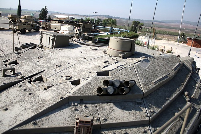Merkava Mk 4A turret