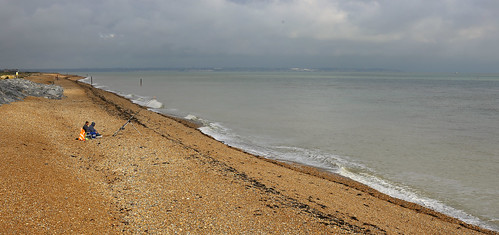 Sunday morning walk from Deal to Sandwich Bay