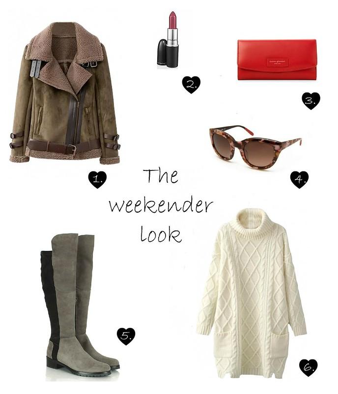 The weekender look
