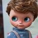 OOAK Custom Blythe Doll for Adoption : Chubby Boy Romeo. by little dolls room