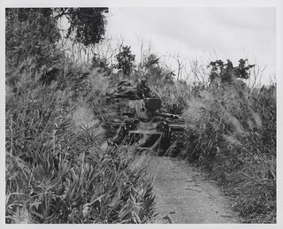 Marines in Tank Near Hill 479, August 1967