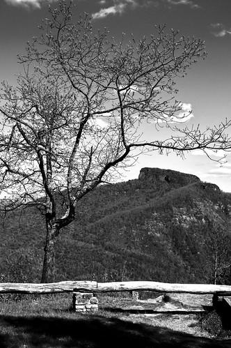 mountain monochrome landscape blackwhite nikon nikkor linvillegorge tablerock nikkorlens nikond3200 landscapephotography nikkor1855mm wisemansview nikondslrphotography
