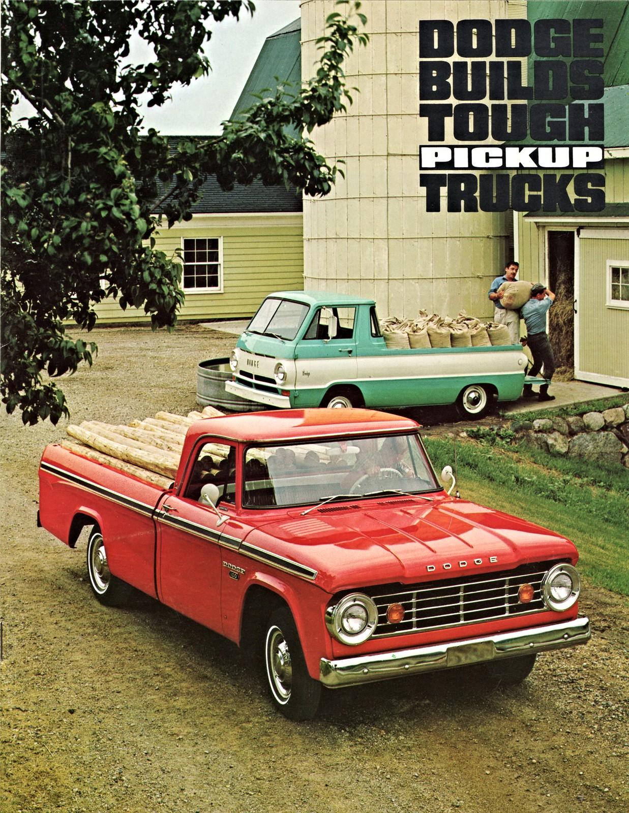 1967 Dodge Pickup Trucks