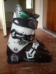 Lyžáky - lyžařské boty - Salomon Shogun (10/11) - titulní fotka