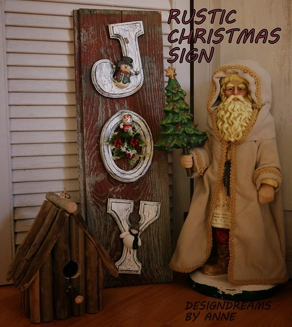 Rustic Christmas Sign 019