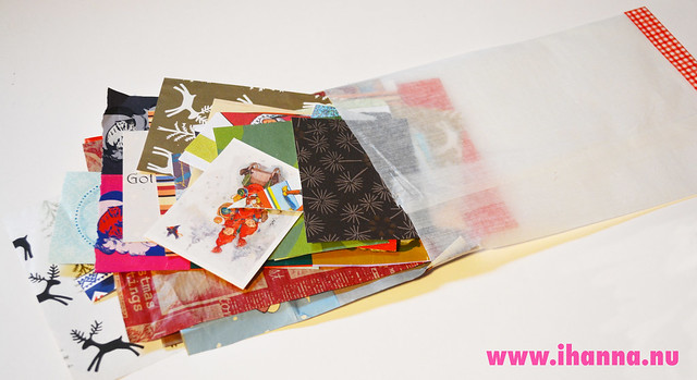 Christmas Paper Kit Package