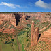 Spider Rock, Canyon de Chelley Navajo Indians Chinle Arizona by 5348 Franco