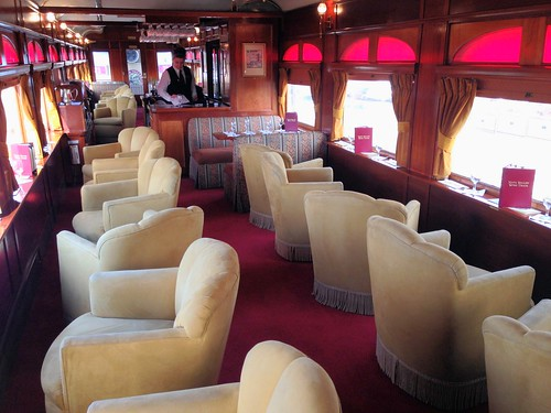 Lounge Car on the Napa Valley Wine Train