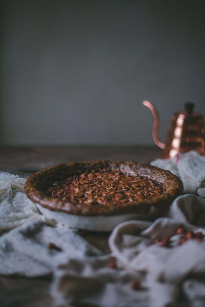 Hazelnut Chocolate Chess Pie With A Buckwheat Crust ...