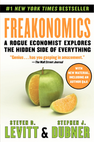 'Freakonomics' by Stephen J. Dubner and Steven Levitt