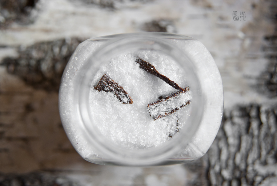 Homemade vanilla sugar (xylitol)