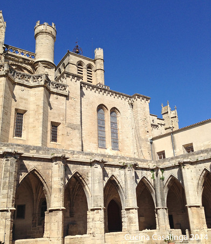 Beziers Kathedrale Kreuzgang
