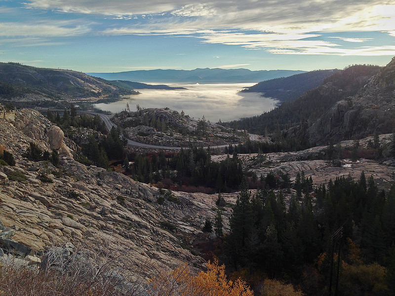 Donner Lake with iPhone 5