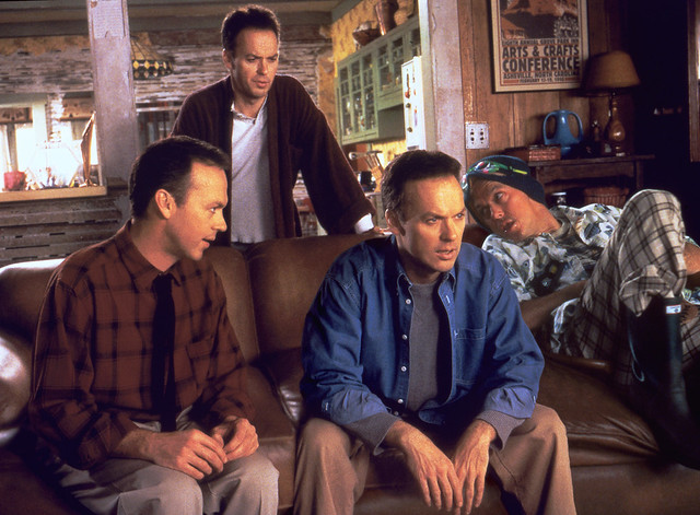 Multiplicity multiple personality Michael Keaton