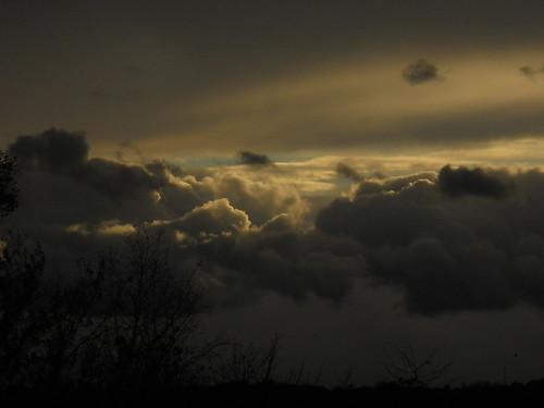 clouds, earlier