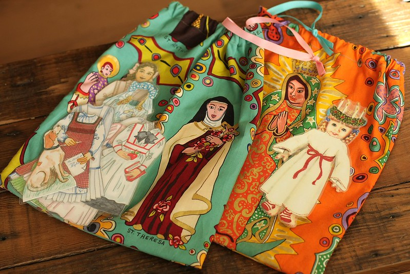 Saints paper dolls for the girls from St. Nicholas