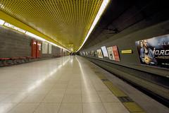 Milan subway view