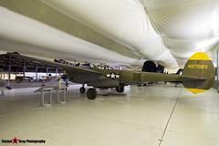 NX2114L 44-27083 5781 Tangerine - 422-8087 - Lockeed P-28L Lightning - Tillamook Air Museum - Tillamook, Oregon - 131025 - Steven Gray - IMG_8048