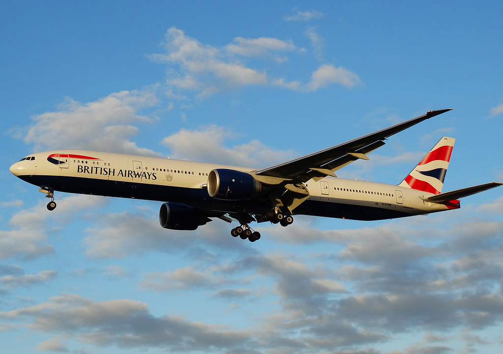 G-STBK - B77W - British Airways