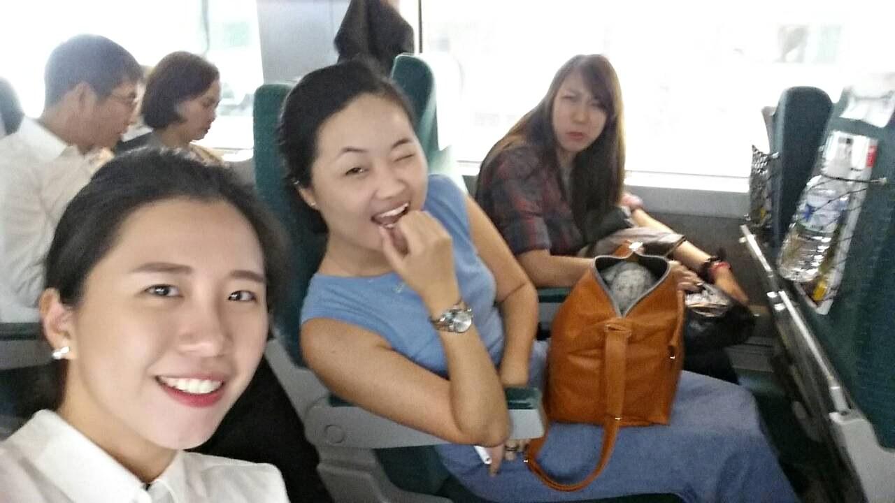 29 Sep 2014: KTX Busan to Seoul