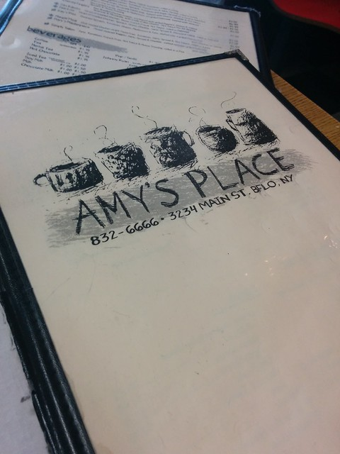 Amy's Place Menu
