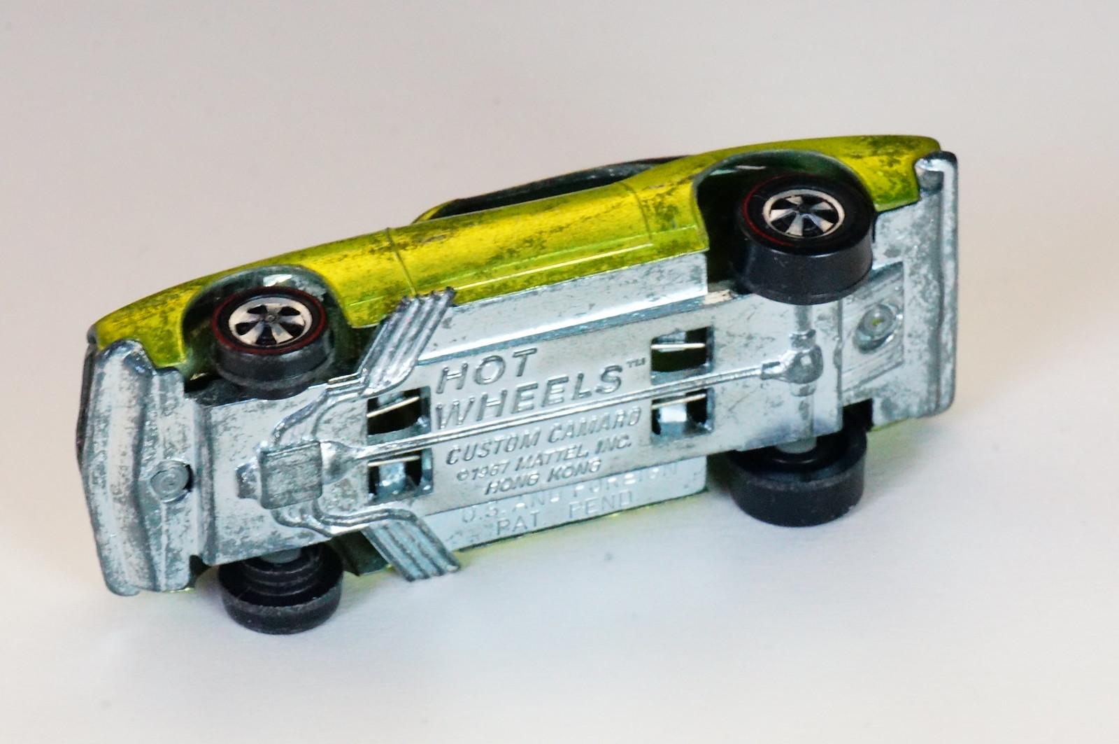 Hot Wheels Redline Anti-Freeze Custom Camaro HK Early Production