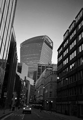 Looking along Fenchurch Street