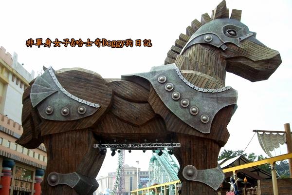 義大遊樂世界20木馬廣場