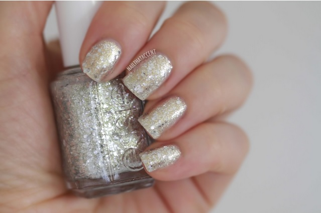 20 nail that accent gold vs silver